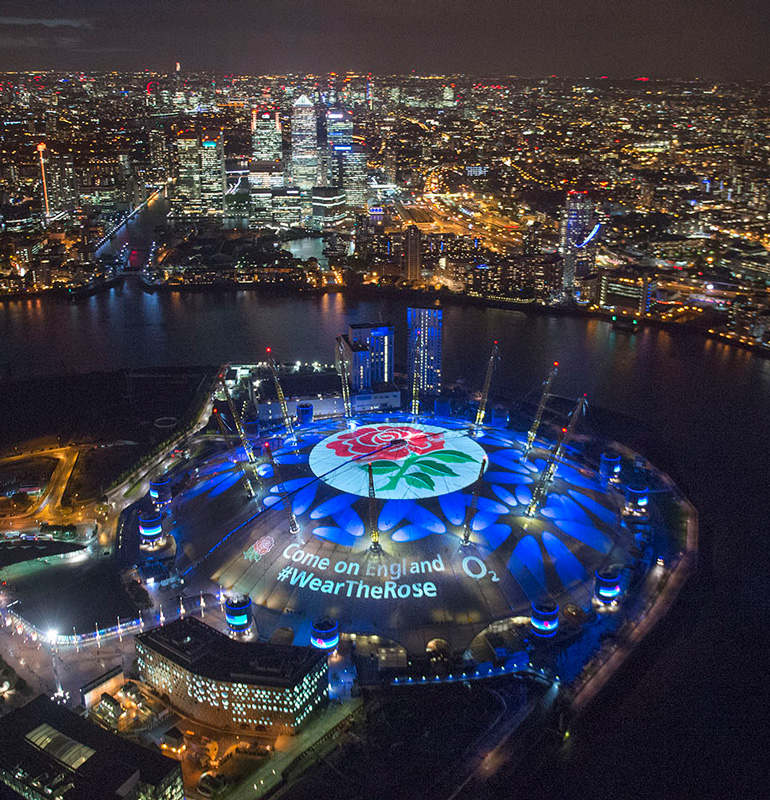 O2 Rose on the Roof sponsorship activation | M&C Saatchi Sport & Entertainment