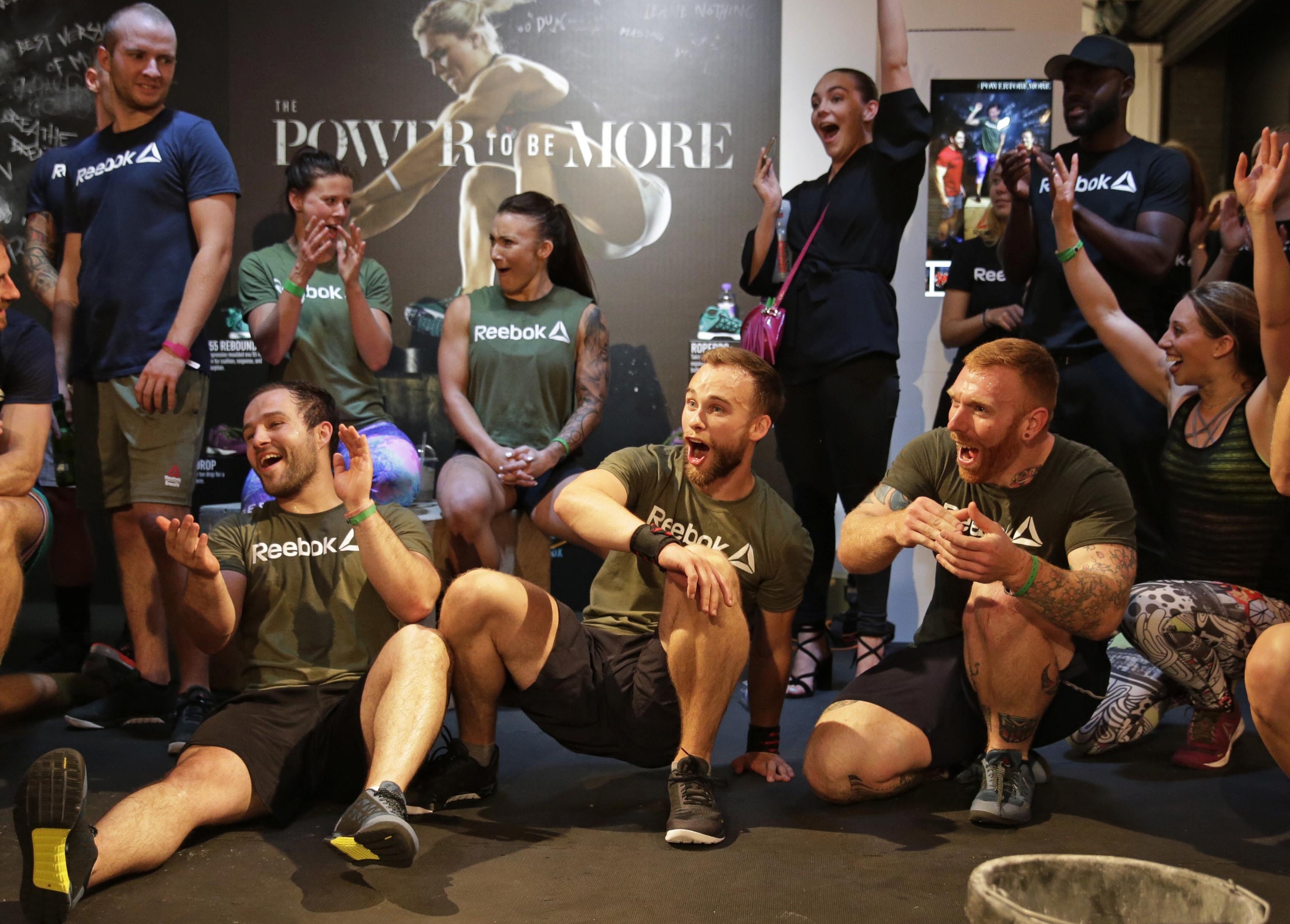 Credit: Photo by Henry Browne/REX/Shutterstock (5753143cg) KEEP Reebok CrossFit Nano 6.0 Launch, London, UK - 06 Jul 2016