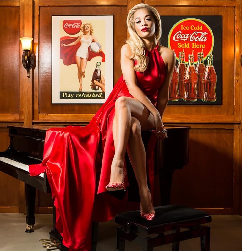 Coca-Cola Contour 100 Year Celebrations with Rita Ora | M&C Saatchi Sport & Entertainment
