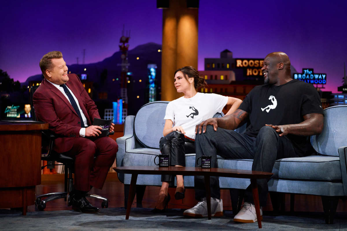 Reebok: VB & Shaq on James Corden